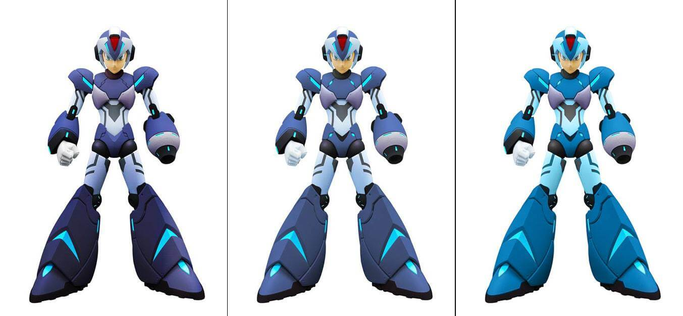 Truforce revises Mizuno Megaman's colors