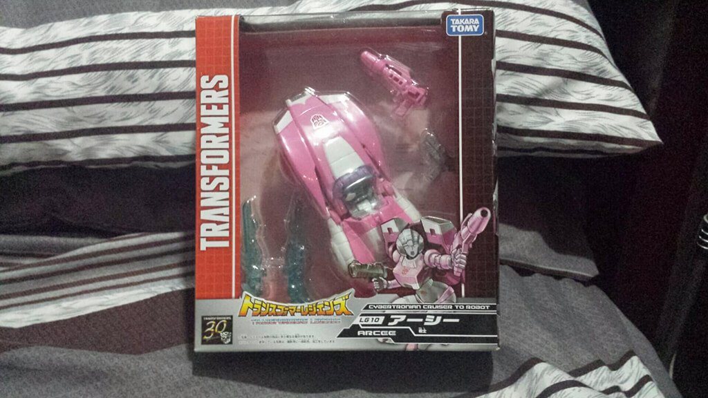 Arcee Transformers Legends LG10